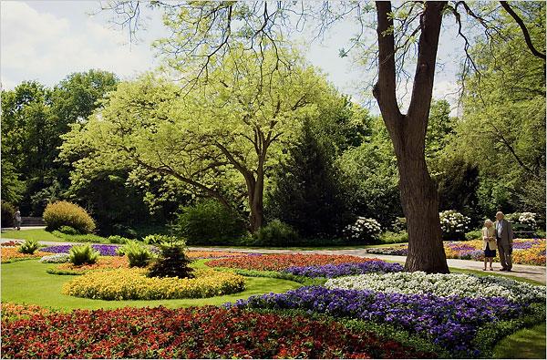 Parque Tiergarten em Berlim Alemanha
