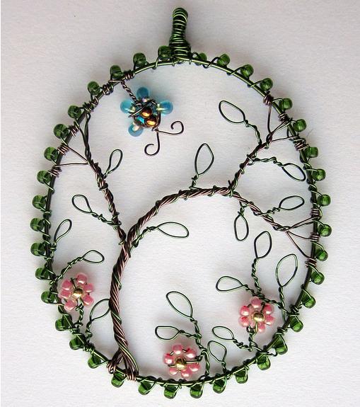 Louise Goodchild, alambre, wire, colecciones, bisutería, proyectos
