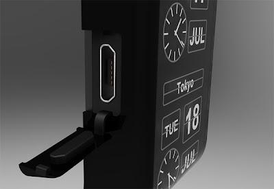 diseño de reloj