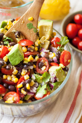 Easy Weight Loss Recipes Black Bean Salad