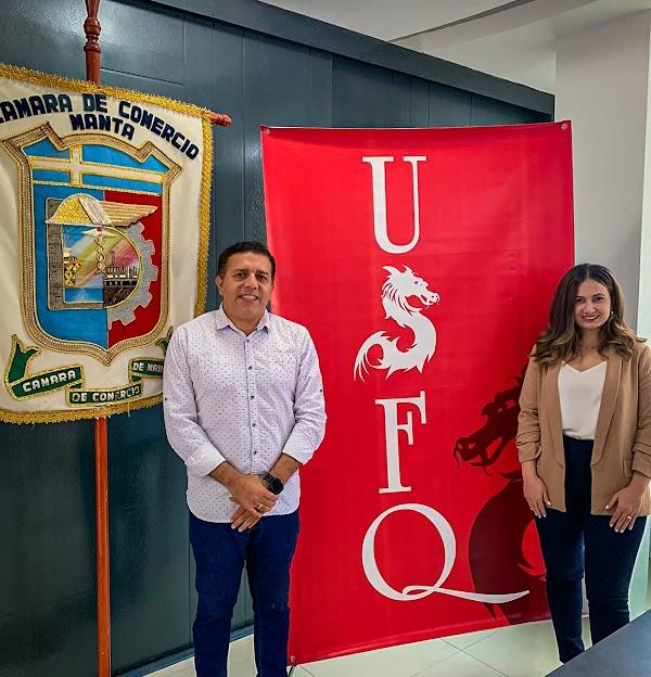 USFQ firma Convenio de Cooperación con la Cámara de Comercio de Manta
