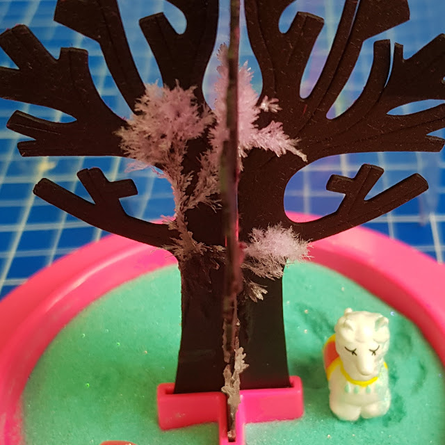 Magic Garden Review growing tree with llama