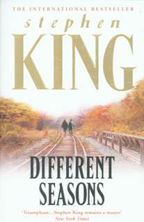 Books For Men Book Reviews! Different Seasons by Stephen King