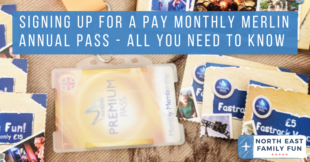 Signing Up For A Pay Monthly Merlin Annual Pass - All You Need To Know