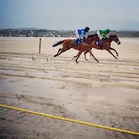Photos of Ireland: Horse race on Omey Island in Connemara