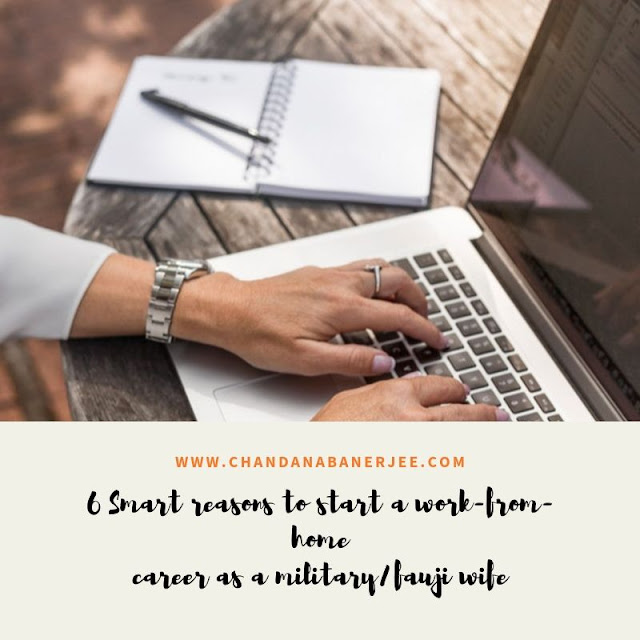 work-from-home military wives