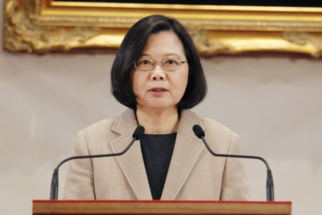 Taiwan's President warns China - If they attack, they will have to pay a heavy price