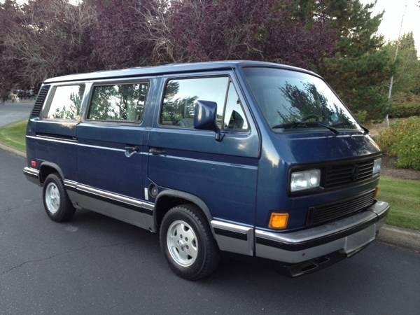 1991 volkswagen vanagon for sale vw bus. Black Bedroom Furniture Sets. Home Design Ideas