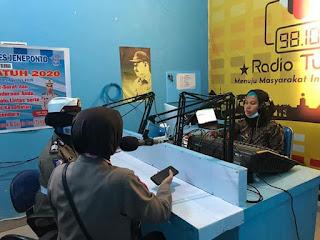 Sat Lantas Polres Jeneponto Sosialisasikan Operasi Patuh 2020 Melalui Radio