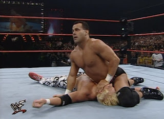 WWF Insurrexion 2000 - Dean Malenko covers Scotty 2 Hotty