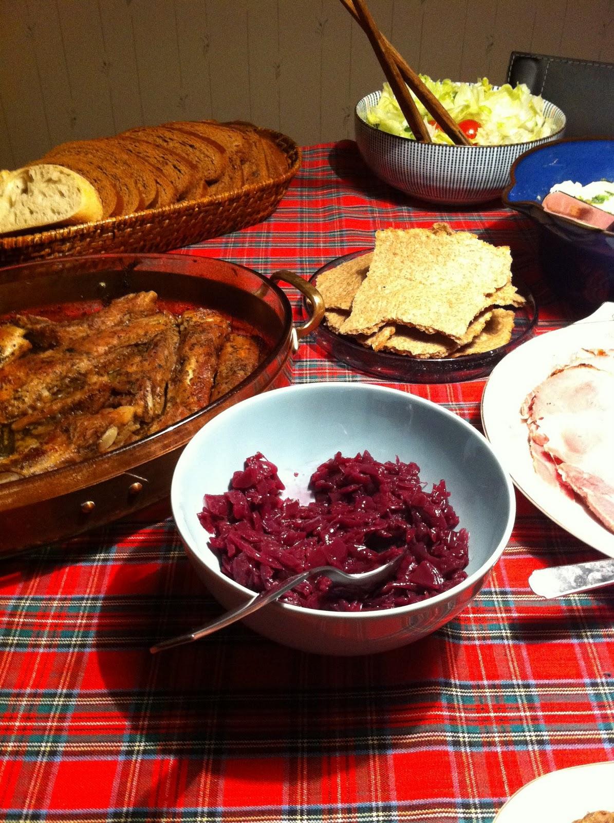 Christmas Eve Food In Spain: Maria's Food Stories: Swedish Christmas Eve Dinner