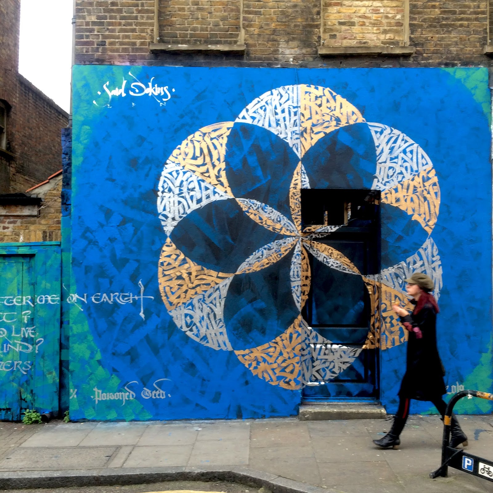 Mural Art London Said Dokins