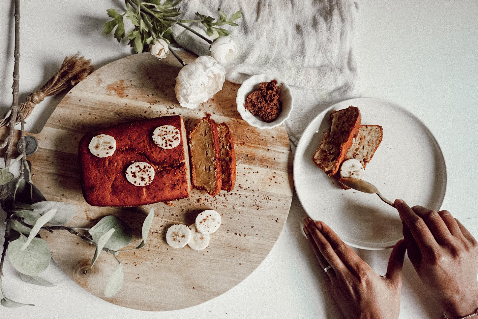 Simple and easy banana bread