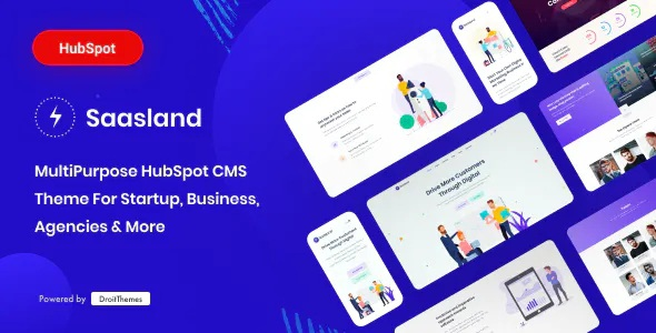 Best Multipurpose HubSpot CMS Theme