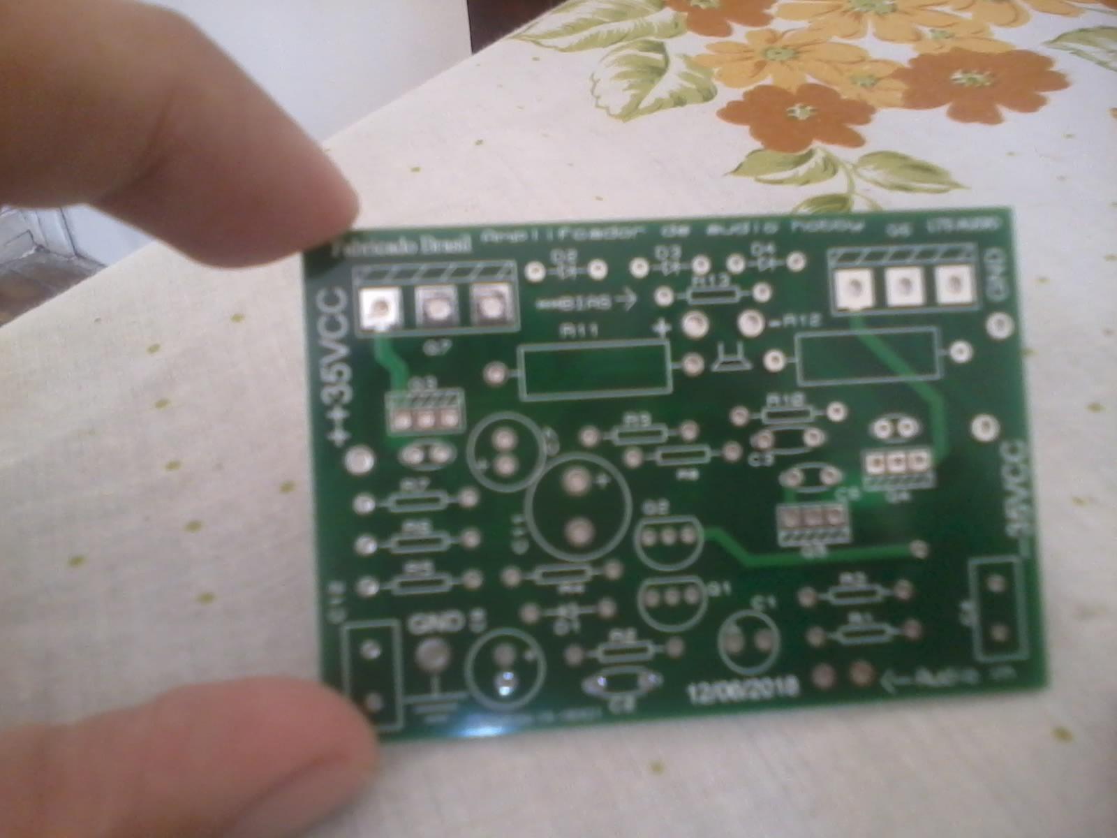 Eletronica Hobby Placas De Circuito Impresso