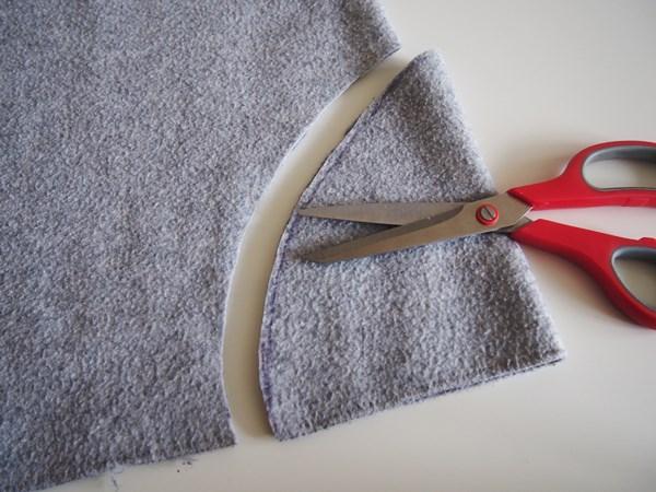DIY : Manteau pour chien sans couture