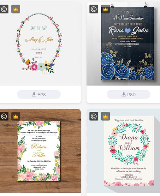 Chia sẻ vector khing hoa thiệp cưới