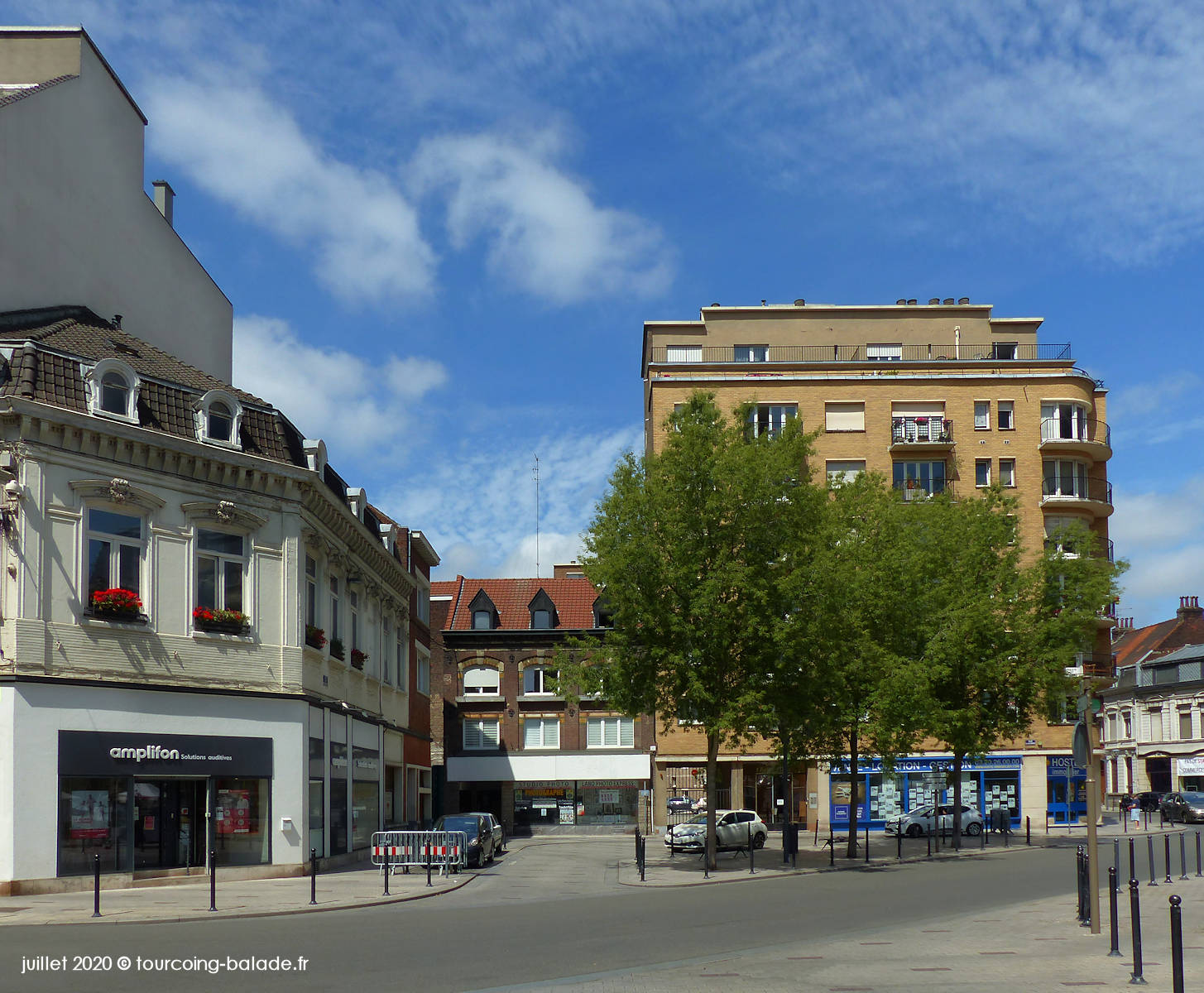 Place Hassebroucq, Tourcoing 2020