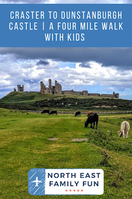 Craster to Dunstanburgh Castle Walk with kids