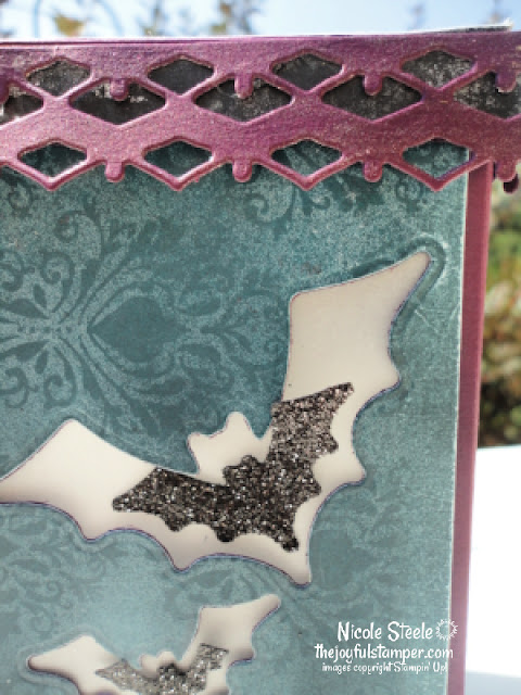 halloween, magic in the night, luminary box, tealight box, gift box, stampin' up!, home decor, paper crafts, stamping, nicole steele, independent stampin' up! demonstrator in pittsburgh pa, the joyful stamper