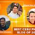 ONLINE VOTE : BEST CEBU BLOGS AWARDS 2020 – PHOTO BLOG CATEGORY