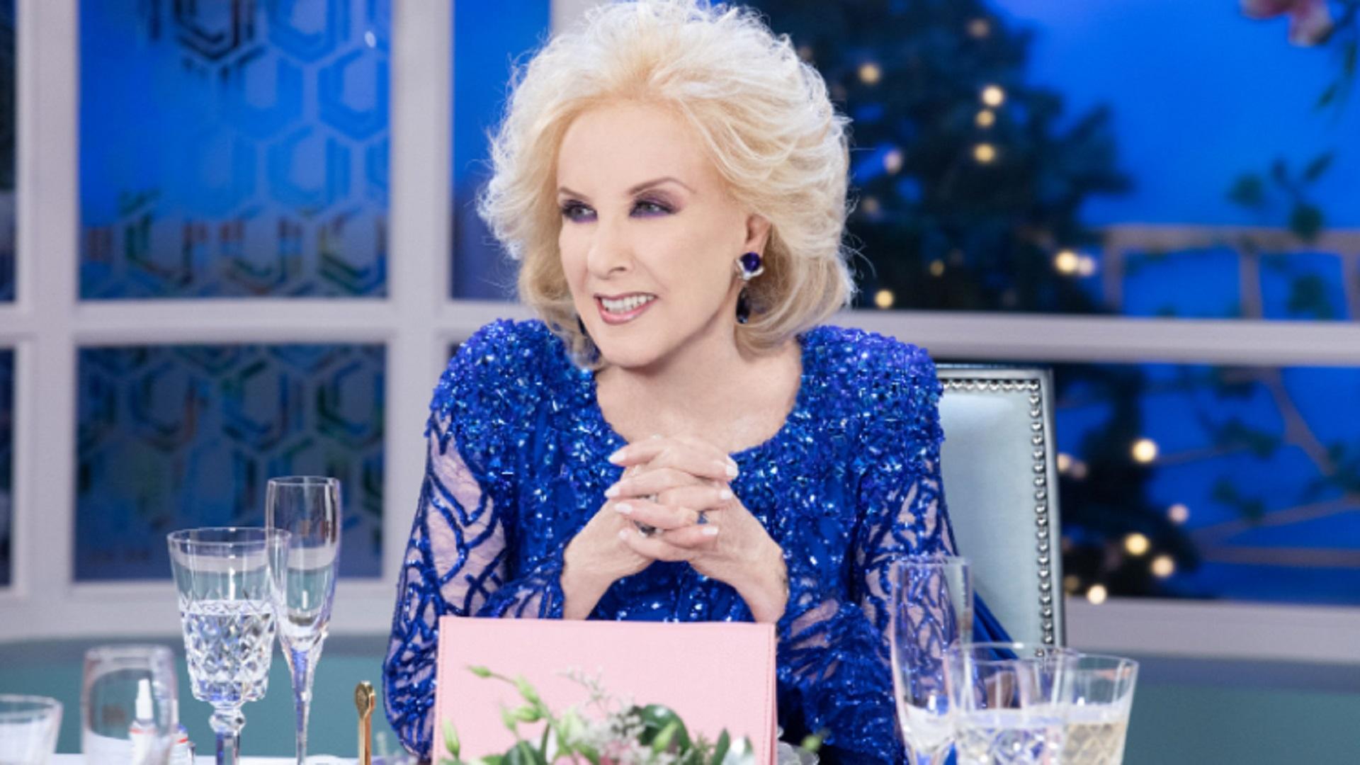 """Volvió Mirtha Legrand a la televisión: """"Goldy era mi todo y no pude despedirla"""""""