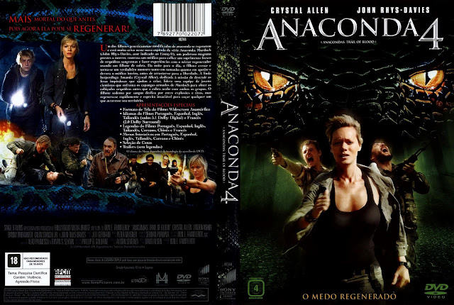 Capa DVD Anaconda 4
