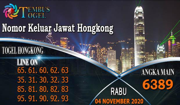 Taruhan Togel Hongkong Hari Rabu 04 November 2020