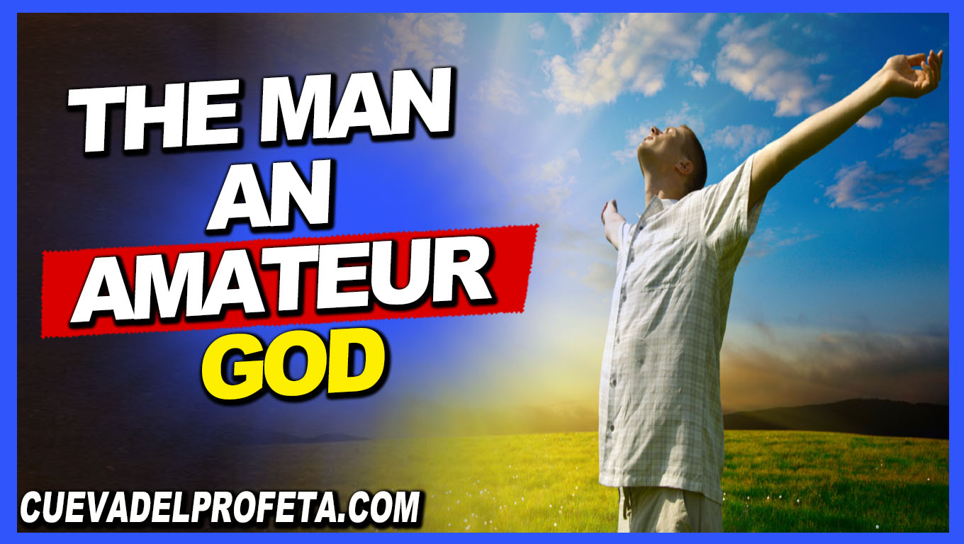 The man an amateur god - William Marrion Branham