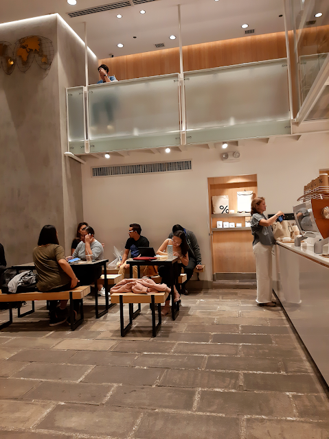 johnny eats coffee latte sugar arabica japanese matcha minimalist zen bgc fort