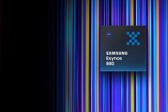 سامسونج تكشف عن معالج الفئة المتوسطة الجديد Exynos 880