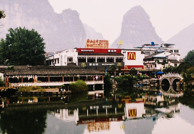 McDonald's de Yangshuo, en China