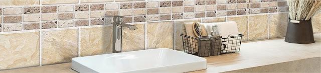 self adhesive tiles for bathroom