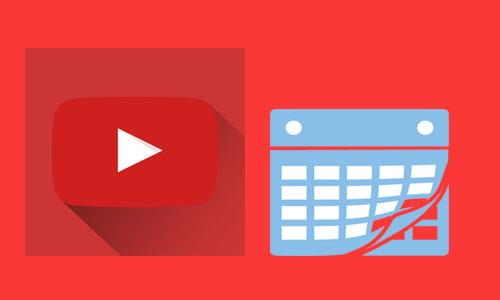 cara upload jadwal video di youtube