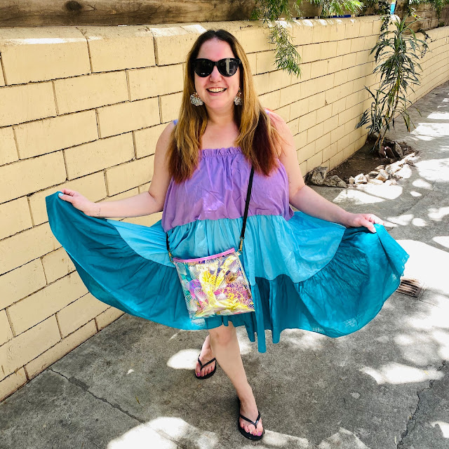 #MermaidMonday, Jamie Allison Sanders, Pitusa Lea Tea Dress, The Little Mermaid, Shopbop, Can't Clutch This