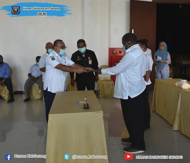 Johny Kamuru Apresiasi Peran Serta 41 Pengusaha Lokal di Kabupaten Sorong