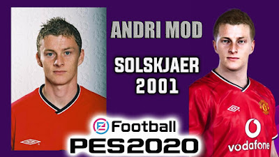 PES 2020 Faces Ole Gunnar Solskjær by Andri Mod