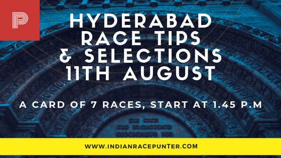 Today's Hyderabad Race Card/ Media Tips/ Odds/ Selections