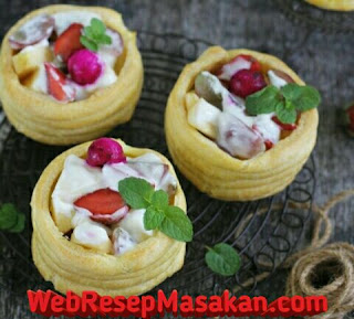 Choux pastry with fruit, Resep Choux Pastry with Fruit,