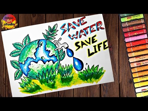 Save Water Posters For Kids