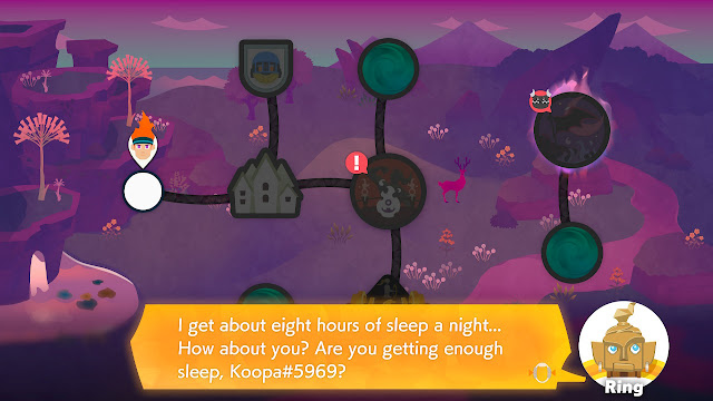 Ring Fit Adventure World 43 get eight hours of sleep a night
