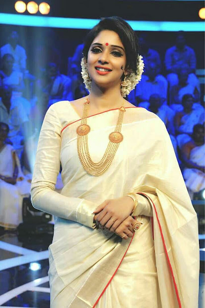 gorgeous kerala saree blouse