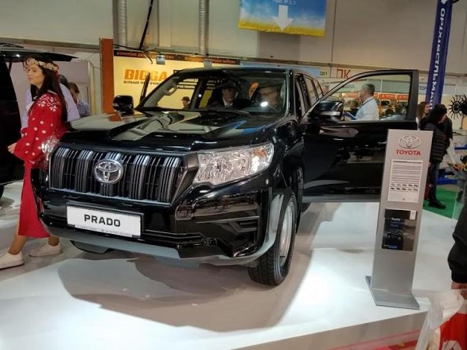 Бюджетная версия Toyota Land Cruiser Prado презентована в Киеве