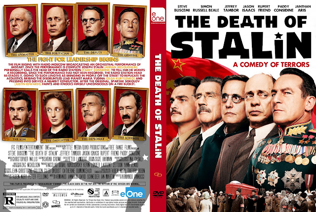 The Death Of Stalin DVD Cover