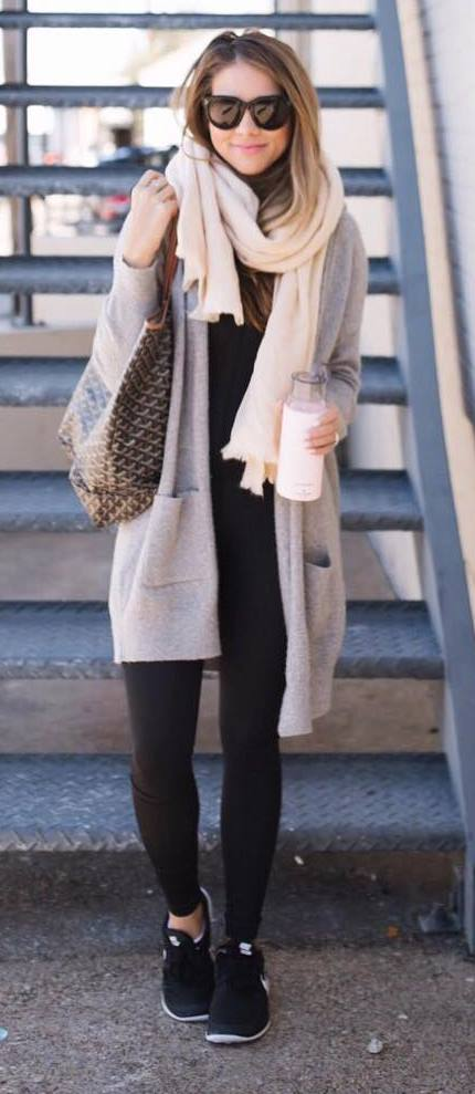 Outfits Club: How To Wear A Scarf For Any Season: 40 Best Outfit Ideas