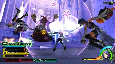 Game PSP RPG Kingdom Hearts: Birth by Sleep