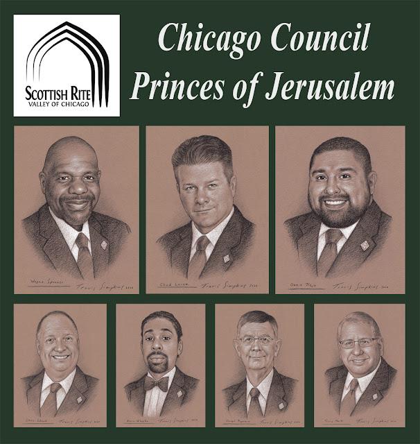 Chicago Council of Princes of Jerusalem. Scottish Rite Valley of Chicago. Scottish Rite, NMJ. by Travis Simpkins
