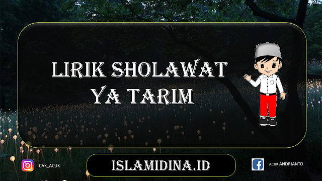 lirik-sholawat-ya-tarim