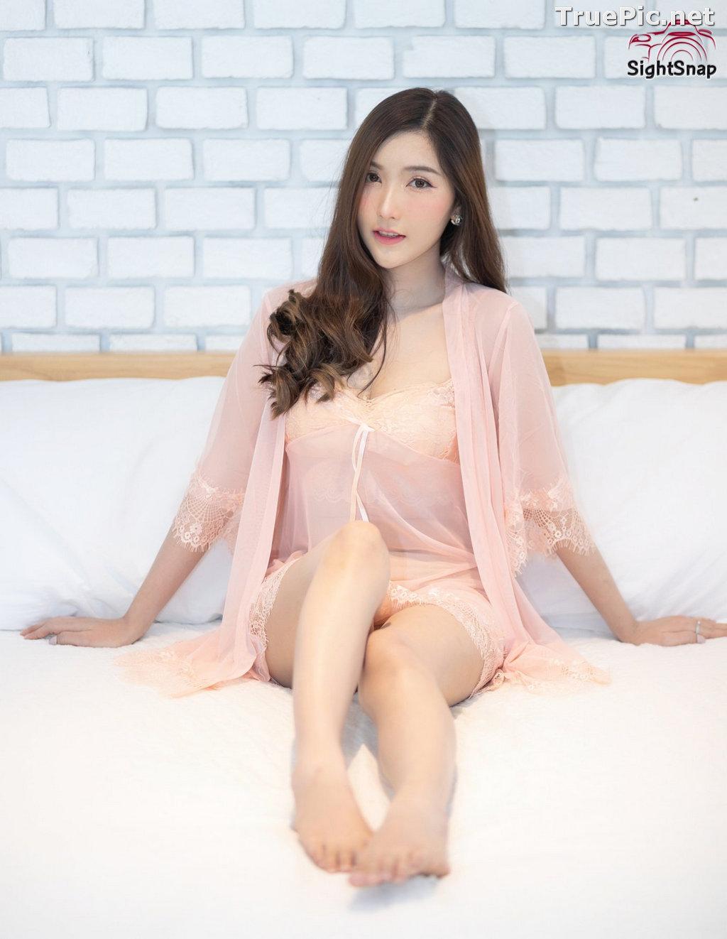 Image Thailand Model - Luc Kie - Nice Pink Love Night Dress - TruePic.net - Picture-6