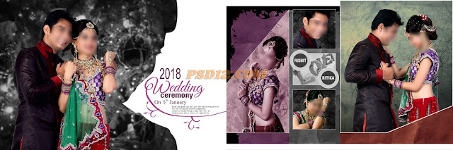 Wedding album 12x36 karizma dm PSD